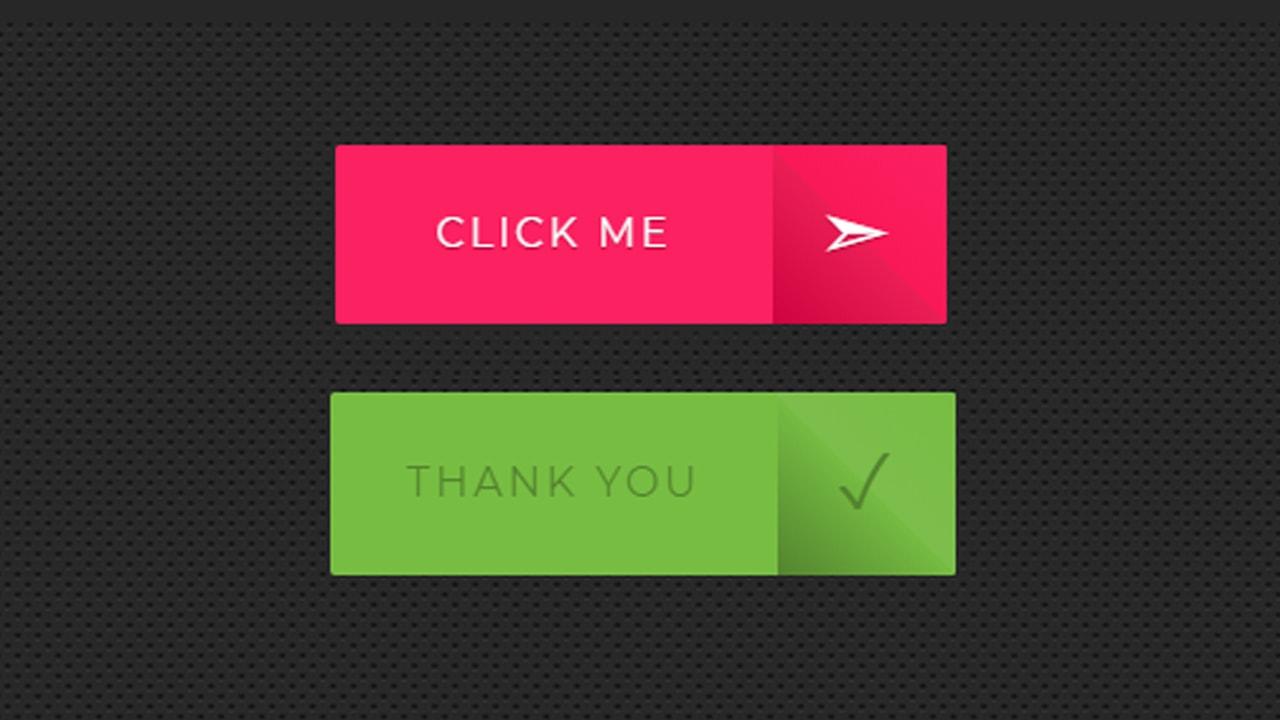 3D Flip button HTML & CSS