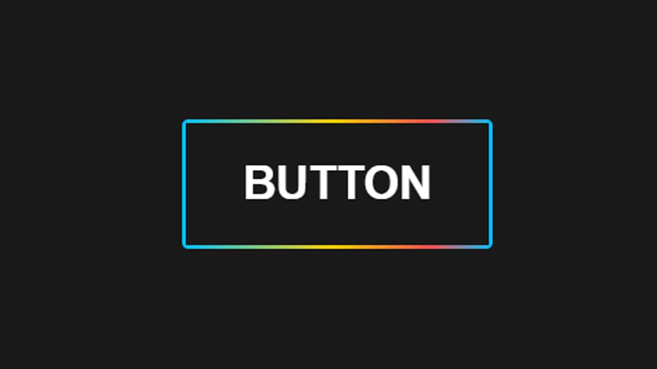 Button Rainbow with Html Css