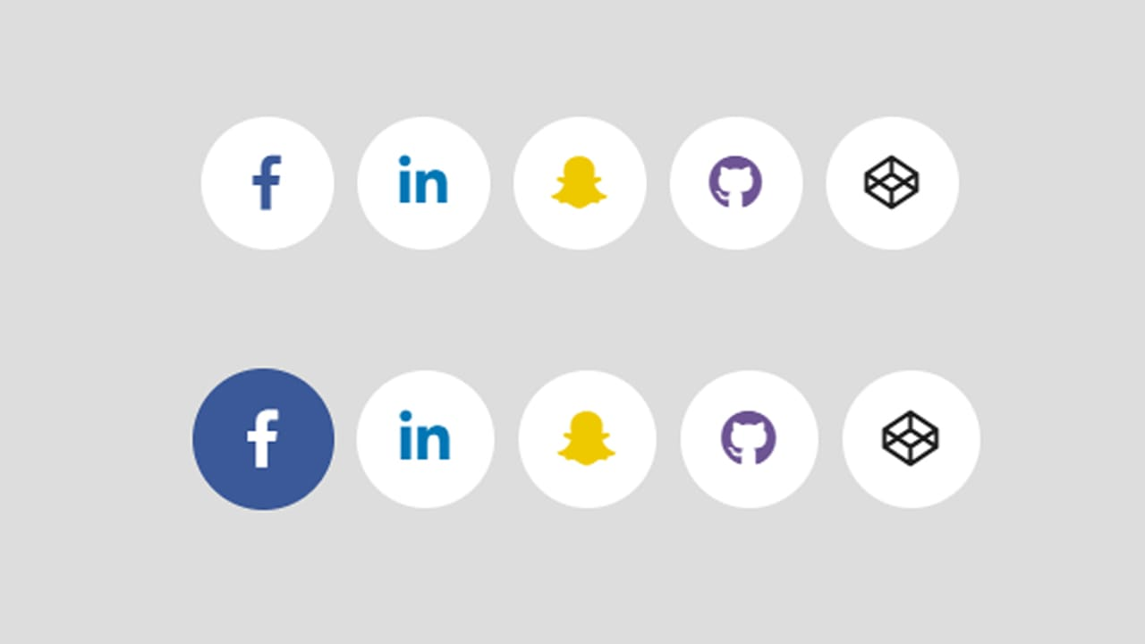 Social Buttons code