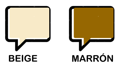 Significado del color beige y marrón