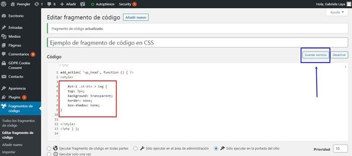 Cómo añadir los Botones de Redes Sociales en WordPress