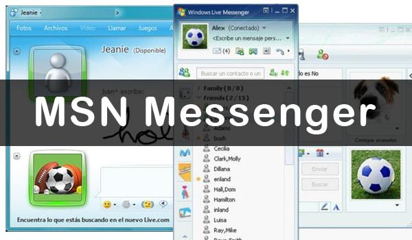 Redes Sociales que dan Nostalgia MSN Messenger