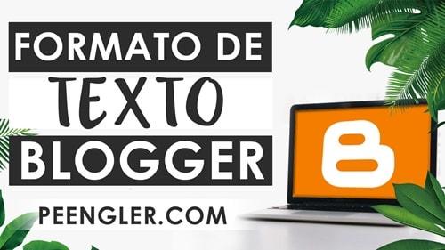 Formato de Texto en negrita cursiva subrayado y tachado en Blogger