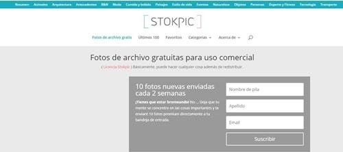 descargar imágenes gratis, de alta calidad con stokpic