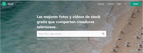 descargar imagenes gratis con pexels