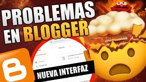 la nueva interfaz de blogger
