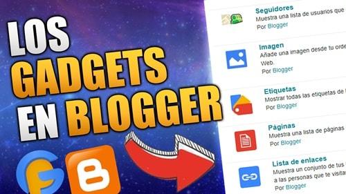 los gadgets en blogger